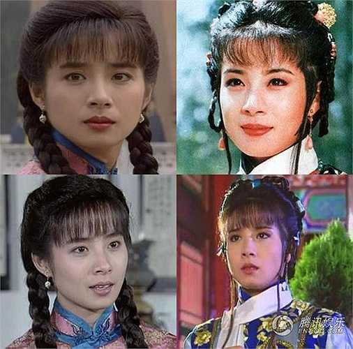 Nhạc Linh với nét đẹp thuần khiết khi còn là ái nữ trong phim Quỳnh Dao.