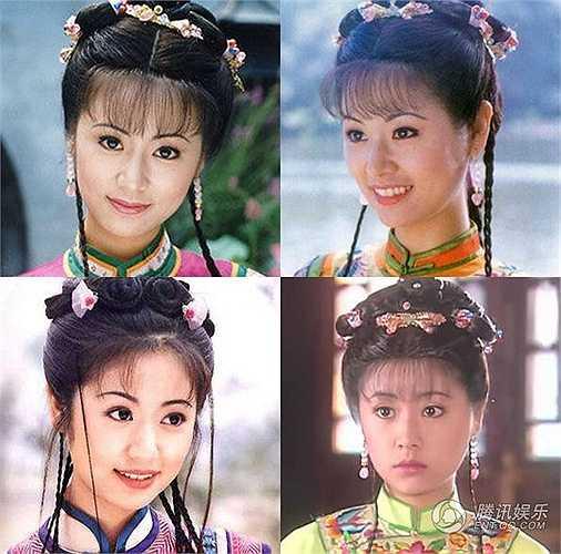 Lâm Tâm Như ngày ấy với vẻ đẹp trẻ thơ, hiền dịu.