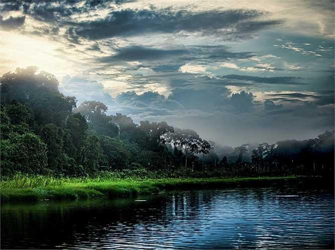 Rừng Amazon, trải dài trên 9 quốc gia bao gồm Brazil, Peru, Colombia, Venezuela, Ecuador, Bolivia, Guyana, Surinam và Guyane (Pháp), với những địa điểm đầy bí ẩn, khó tiếp cận