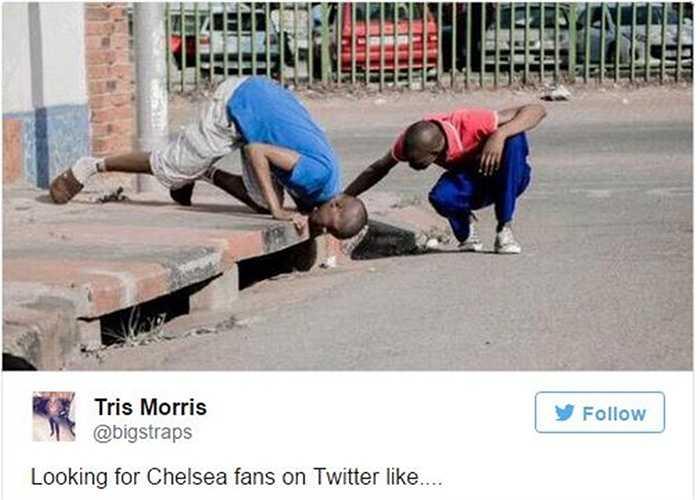 Rất khó để tìm các CĐV Chelsea sau đêm qua