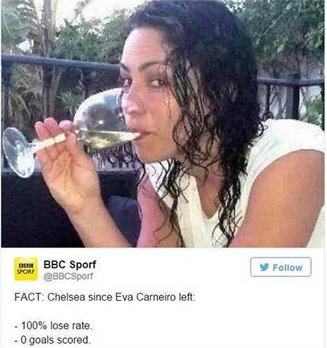 Mất vị bác sĩ xinh đẹp, Chelsea thua 100% và không ghi được bàn thắng nào
