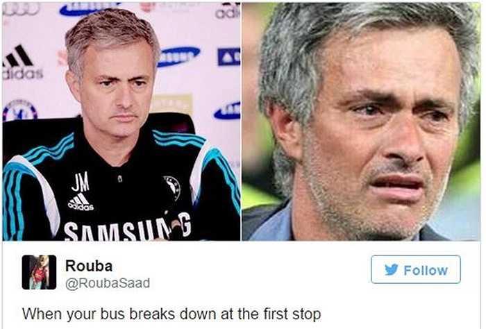 Xe buýt không còn thì lấy gì mà đá hả Mourinho?