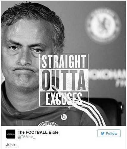 Mourinho không còn gì để nói nữa?