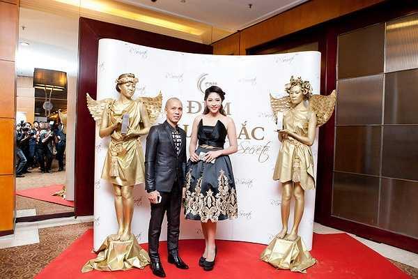 Hoa hậu Đại dương Đặng Thu Thảo là khách mời danh dự trong một sự kiện mang tên Đêm nhan sắc.
