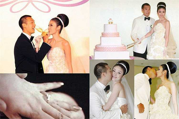 Trần Tuệ Lâm lên xe hoa năm 2008 cùng doanh nhân Hồng Kông Lưu Kiến Hạo, kết thúc cuộc tình 6 năm. Cô được chồng tặng nhẫn cưới kim cương 6 carat có giá lên tới 10 triệu NDT (34 tỉ đồng).