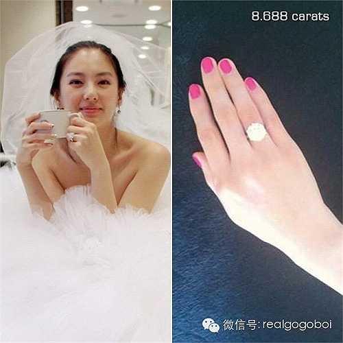 Tháng 4.2011, cặp đôi đạo diễn Vương Toàn An và nữ diễn viên Trương Vũ Kỳ chính thức nên duyên vợ chồng. Đạo diễn Vương tặng bà xã nhẫn kim cương 8,688 carat trị giá 6,9 triệu NDT (23 tỉ đồng). Con số 8688 chính là ngày sinh của Trương Vũ Kỳ (8.8.1986).
