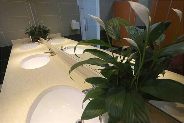 Bồn rửa tay là sản phẩm cao cấp từ thương hiệu nổi tiếng.