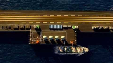Trung Quốc chuẩn bị xây dựng công trình nổi khổng lồ trên Biển Đông