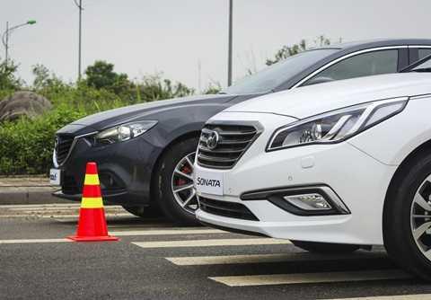 Về mặt an toàn, có thể nói cả Hyundai Sonata 2015 và Mazda6 2014 đều được trang bị đầy đủ các công nghệ tiên tiến nhất.