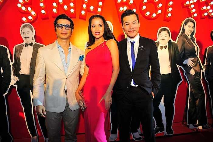 Bebe Phạm và Dustin Nguyễn.
