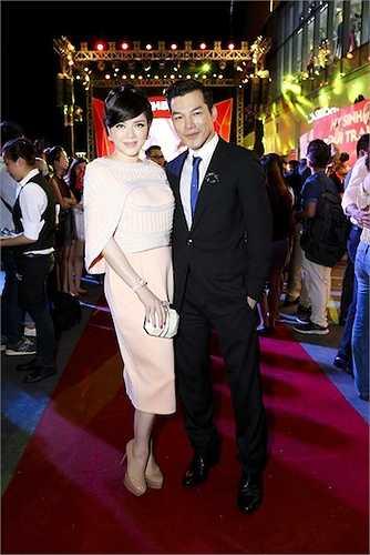 Cô và Trần Bảo Sơn rất thân nhau do cùng là doanh nhân.