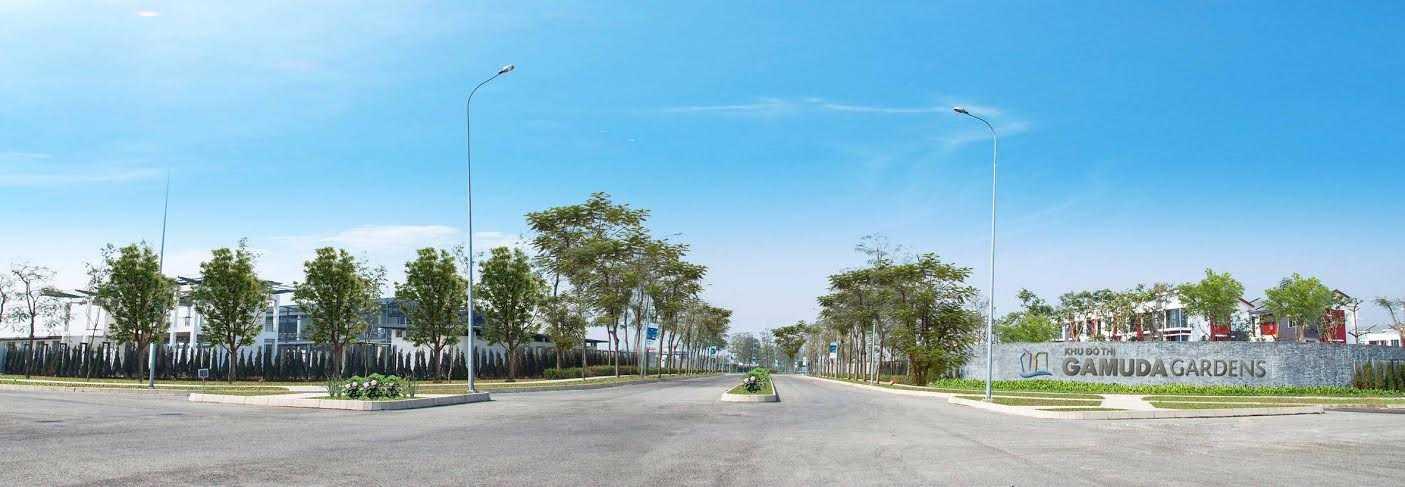 Toàn cảnh khu đô thị Gamuda Gardens