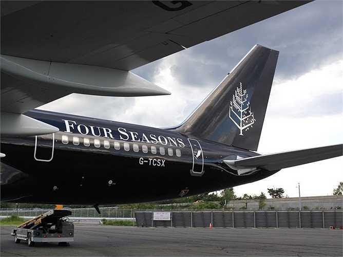 'Khách sạn bay' Boeing 757-200 này sẽ là phương tiện để di chuyển cho dịch vụ du lịch vòng quanh thế giới được triển khai năm tới.