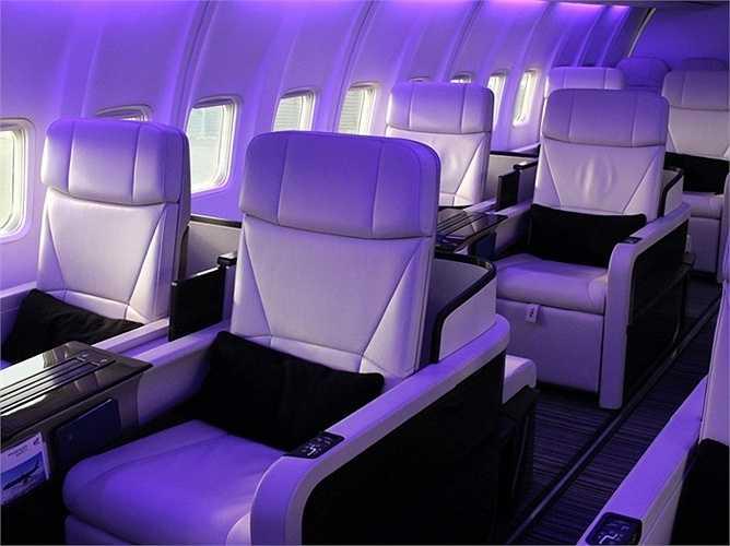 Tour thứ 2 bằng 'Khách sạn bay' Boeing 757-200 khởi hành ở Los Angeles khoảng 19/3 đến Australia, Lào, Ấn Độ, Tanzania, Nam Phi và Brazil, 115.000 USD/khách