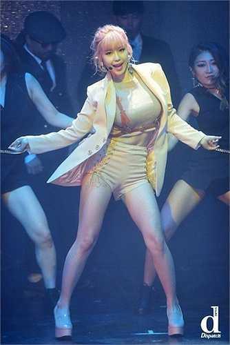 Cô sở hữu vòng một sexy nhất K-Pop.
