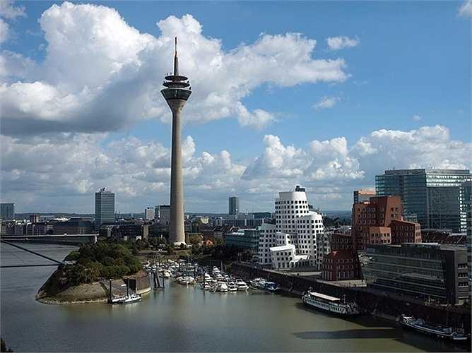 18. Dusseldorf - thành phố cuối cùng của Đức trong sáu thành phố lọt top 50 trên toàn cầu.