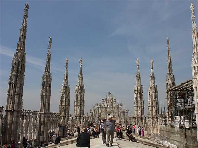 21. Milan - thành phố miền bắc của Italia và cũng là thành phố được xếp hạng cao nhất của nước này.