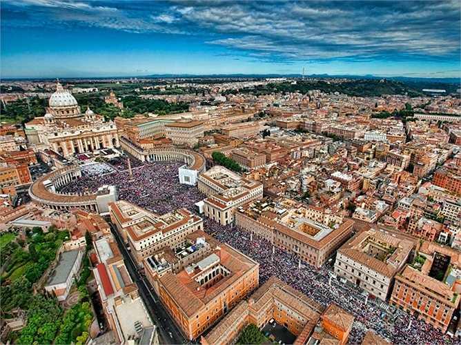 22. Roma - thủ đô của Ý cũng góp mặt.
