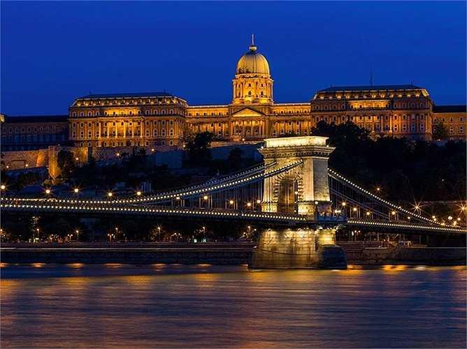 23. Budapest - thủ đô của Hungary là nơi duy nhất ở miền đông châu Âu lọt vào top 50 trên toàn cầu.