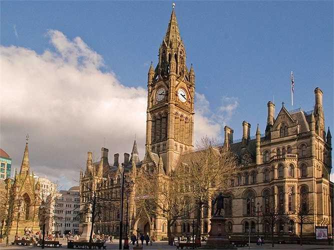 24. Manchester - London của Anh đáng tiếc lại là thành phố cuối cùng có mặt trong hạng mục những thành phố đáng sống nhất ở châu Âu, dựa trên bảng xếp hạng những thành phố sống tốt nhất trên toàn cầu.
