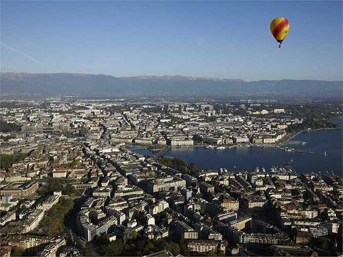 4. Geneva - hiện cũng đang xếp thứ 12 trong bảng xếp hạng toàn cầu.
