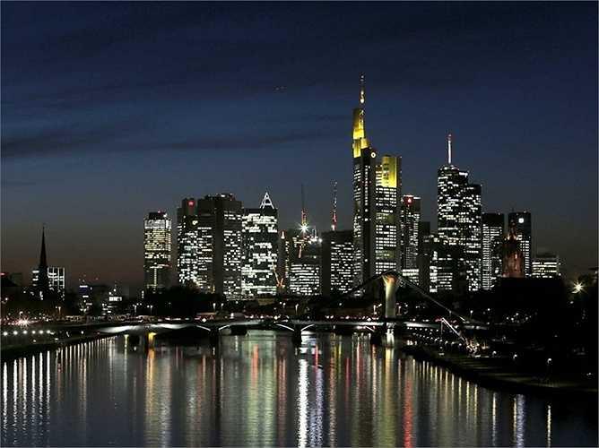 6. Frankfurt - là trung tâm tài chính của nước Đức nhưng vẫn có nhiều 'thua thiệt' hơn so với Hamburg.