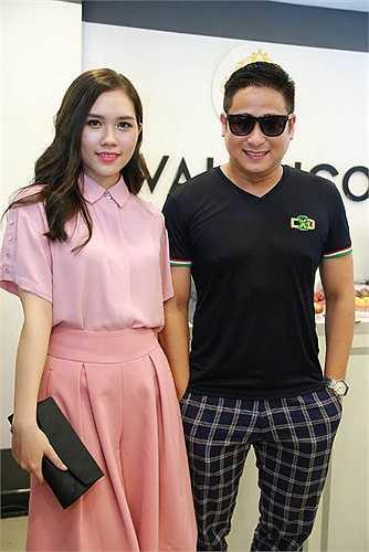 Vợ chồng diễn viên Minh Tiệp - Thùy Dương.