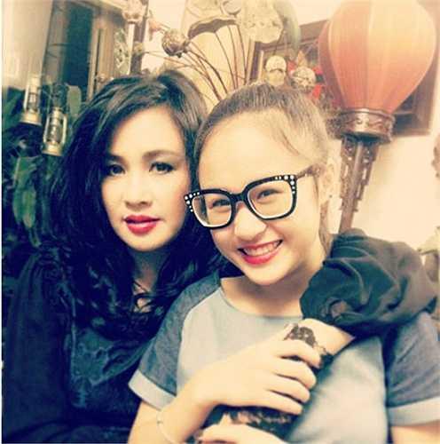 Thanh Lam cũng có một cô con gái xinh xắn không kém gì mẹ.