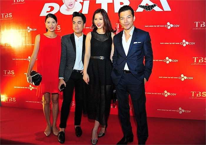 Maya cũng chúc phim mới của nhà sản xuất Trần Bảo Sơn sẽ nhận được nhiều sự yêu thích của nhiều đối tượng khán giả khác nhau.