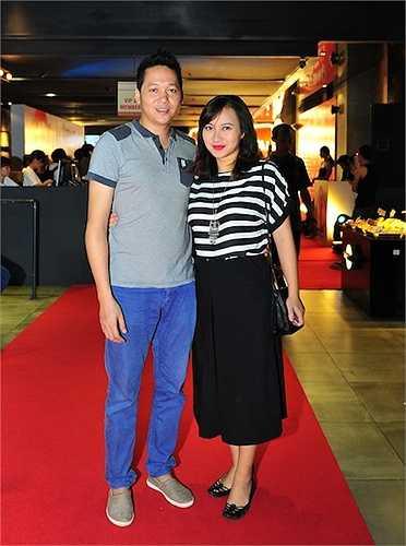 Vợ chồng ca sỹ Khánh Linh.