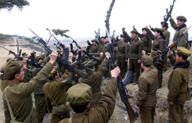 Quân nhân Triều Tiên