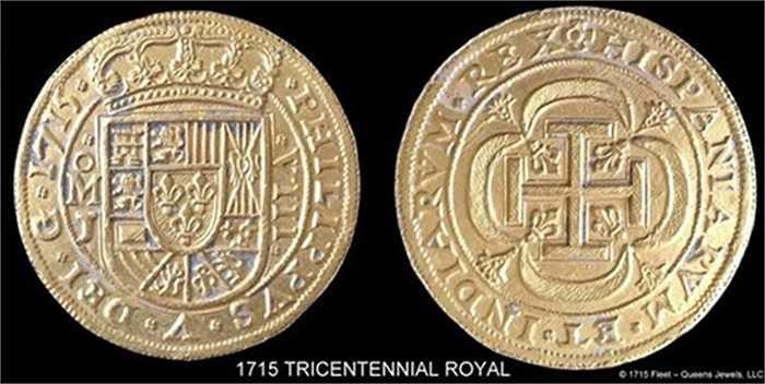 Trong số những đồng tiền vàng vớt được có đồng tiền vào hàng quý hiếm, nay rất khó được tìm thấy
