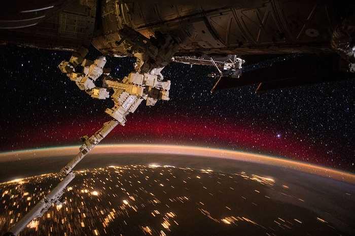 Một phần Trái đất nhìn từ vũ trụ