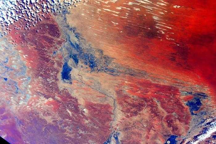 Australia nhìn từ trạm ISS
