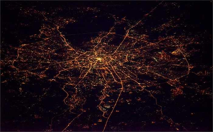 Thủ đô Matxcơva trong đêm