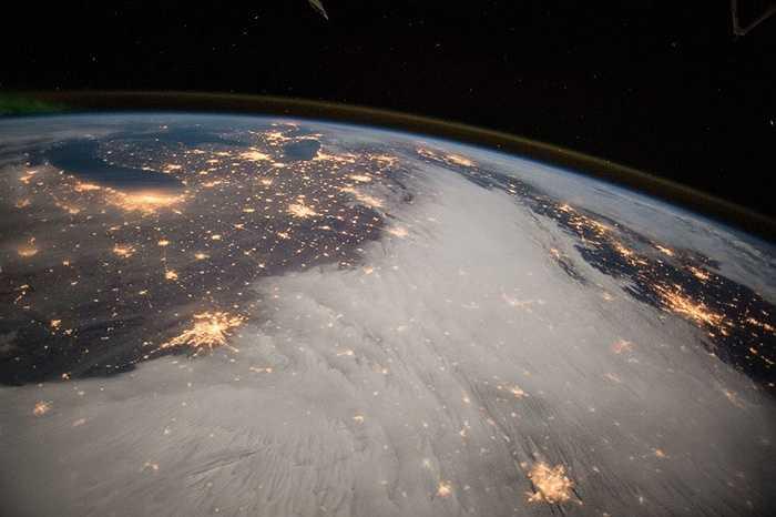 Miền Trung nước Mỹ trong đêm