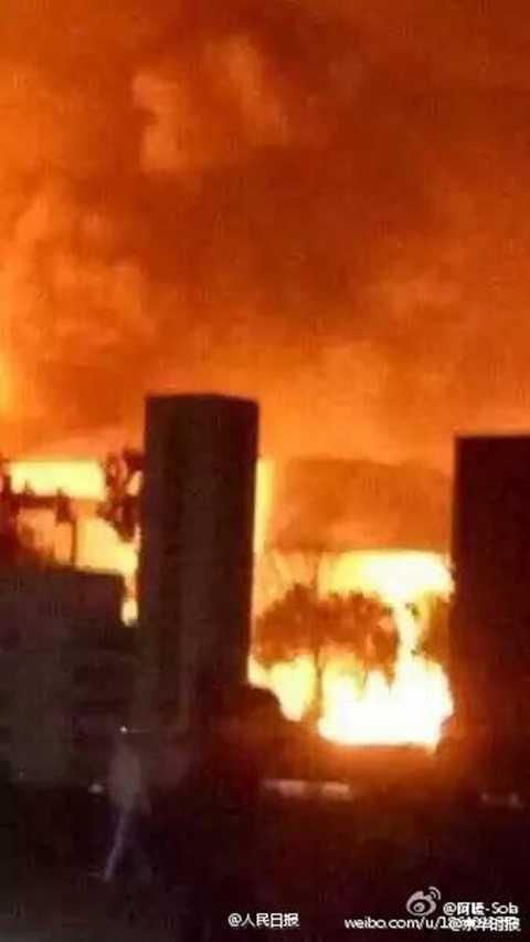 Vụ nổ nhà máy hóa chất ở Sơn Đông diễn ra 10 ngày sau vụ nổ kho hàng chứa nhiều chất độc hại ở Thiên Tân