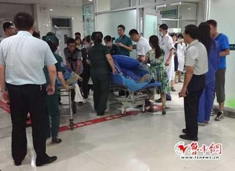 Các trang mạng <a href='http://vtc.vn/xa-hoi.2.0.html' >xã hội</a> Trung Quốc lan truyền tin nói có 1 người phải nhập viện sau vụ nổ
