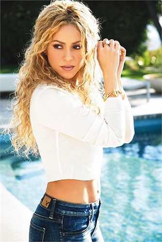 Shakira đã nhanh chóng lấy lại được vóc dángsau khi sinh em bé.