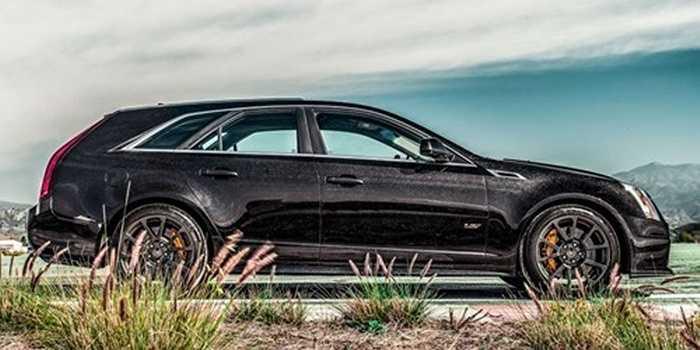 Cadillac CTS-V Wagon: Vóc dáng cân đối và lạnh lùng, CTS-V chứng tỏ mình là đẹp nhất trong làng xe wagon vốn chỉ ưu tiên tới không gian sử dụng mà bỏ qua nhan sắc bên ngoài.