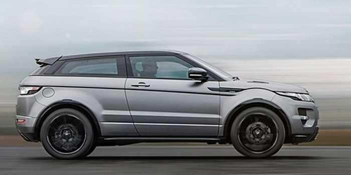Range Rover Evoque: Em út nhỏ nhắn trong gia đình Range Rover, Evoque mang dáng vẻ gọn gàng, năng động và lịch lãm, phù hợp với điều kiện giao thông trong các đô thị sầm uất và đông đúc.