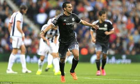 Pedro tỏa sáng với 1 bàn thắng và 1 pha kiến tạo