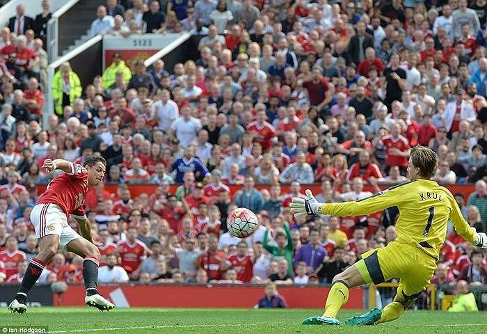 Cùng với sự vô duyên của các chân sút khác, Man Utd đánh rơi chiến thắng ngay trên sân nhà