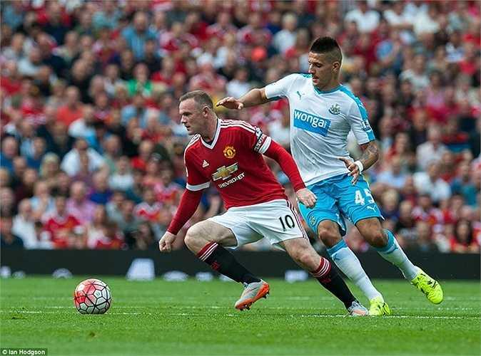 Tại Premier League mùa này, chưa trận nào Quỷ đỏ ghi nhiều hơn 1 bàn thắng