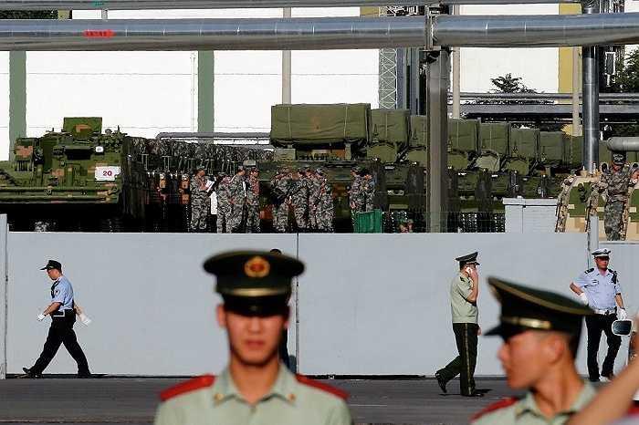 12,000 binh sĩ cùng 200 máy bay chiến đấu các loại và nhiều vũ khí mới của Trung Quốc sẽ tham gia cuộc duyệt binh  kỷ niệm 70 năm ngày chấm dứt Thế chiến II vào tháng tới