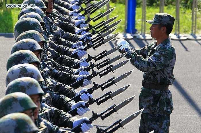 Dự kiến có khoảng 50 đội hình duyệt binh qua Quảng trường Thiên An Môn