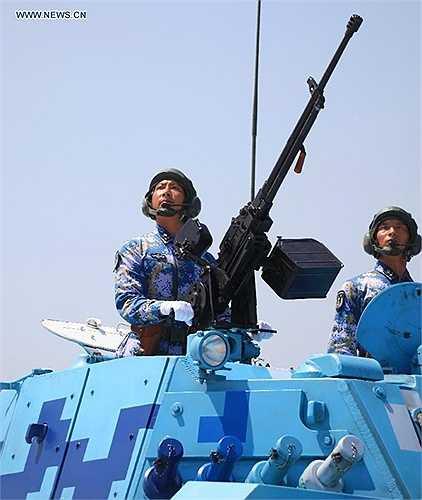 Lễ diễu binh lần này được xem như là cơ hội để Trung Quốc phô trương sức mạnh quân sự