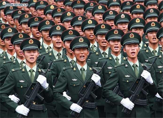Đây là lần thứ 14 Trung Quốc tổ chức lễ duyệt binh kể từ khi thành lập nước Cộng hòa dân chủ nhân dân Trung Hoa ngày 1/10/1949