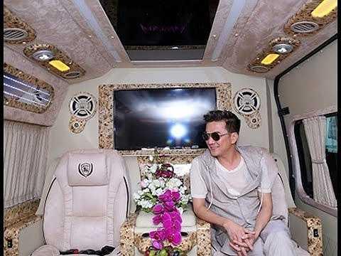 Chiếc xe dát vàng trị giá 40 tỷ, nội thất bên trong tiện nghi, cao cấp.