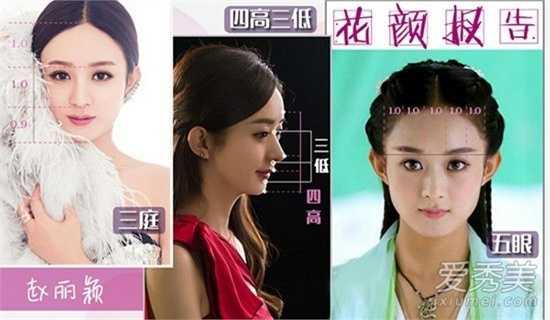 Triệu Lệ Dĩnh: Người đẹp sinh năm 1987 xứng đáng được gọi là thần tiên thế hệ mới. Tuy nhiên nàng Hoa Thiên Cốt bị trừ điểm vì gương mặt quá tròn, cằm ngắn.